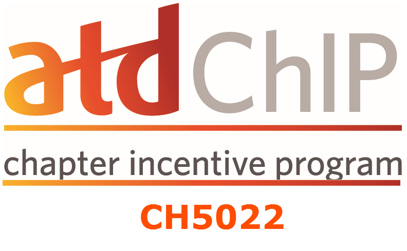 Use CH5022 when purchasing items or registering for national ATD events.